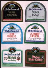 Old beer bottle Beer labels Germany 3 pages  #050